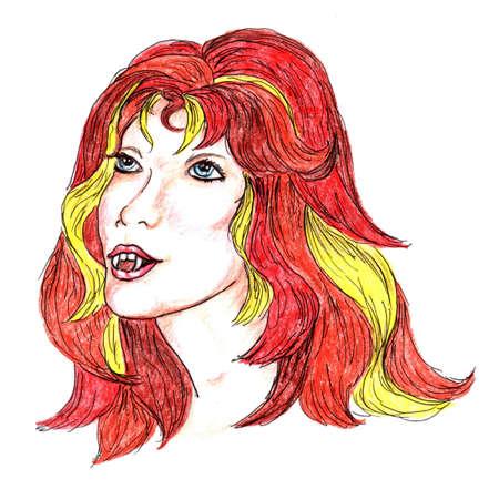 frighten: Vampire Girl