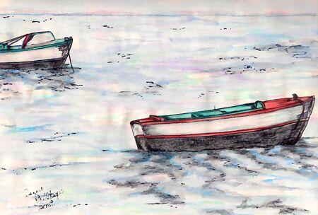 row boat: Boats