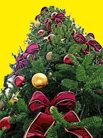 휴일 크리스마스 트리 장식