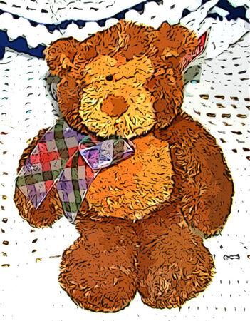 kahverengi: Sevimli Brown Teddy Bear Çocuk Oyuncak