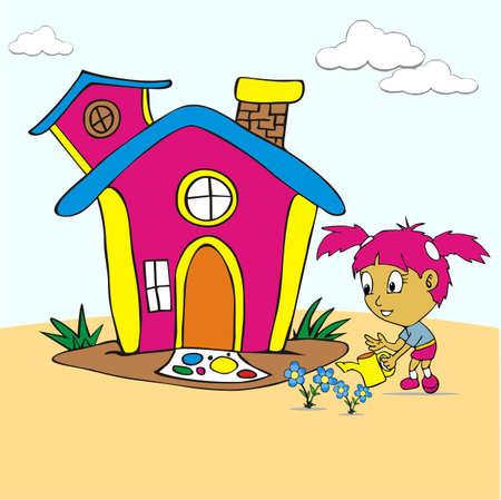 diversion: Children activty Illustration