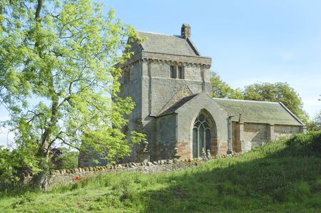 Crighton church in Midlothian photo