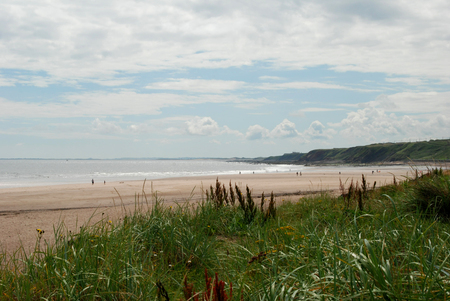 sea and beach at Spittal, Northumberland