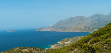 View on Mirabello Gulf. Crete. Greece