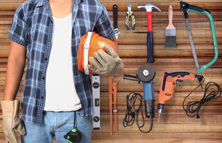 Le builde sur le fond et les outils