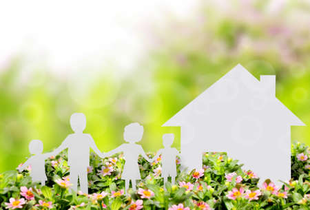 concept beeld van uw een huis