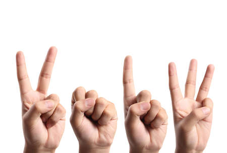 0 1 year: happy new year and hands forming number 2013