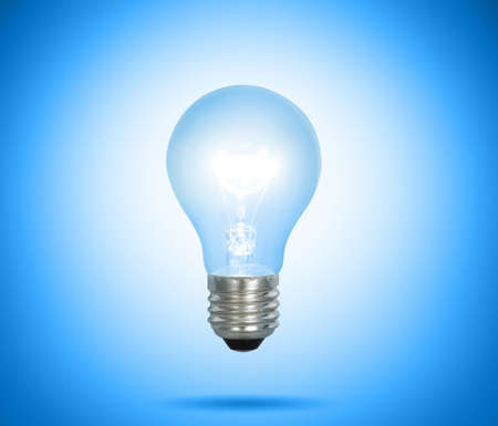 ideas, energy saving light bulb  photo