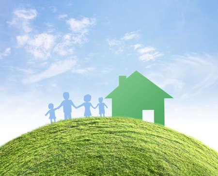 concept image of make your a house Banco de Imagens