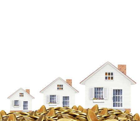 desarrollo econ�mico: Concepto de la hipoteca por la casa de dinero de las monedas