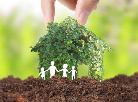 houden huis vertegenwoordigt eigenwoningbezit en de Real Estate bedrijf