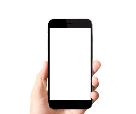 cell phones: Modern mobile phone in the hand