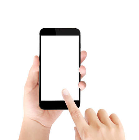 Touch screen smartphone,application on a screen