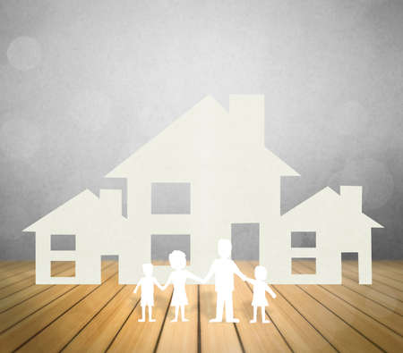 home ownership: house representing home ownership and the Real Estate business