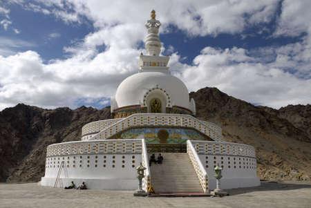 leh: Shanti Stupa, Leh, Ladakh, Indian Himalaya