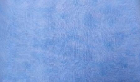 Fond de tissu teint. Beau fond abstrait. Ciel, mer, fond bleu