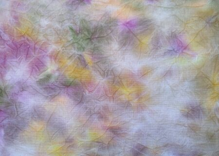 Background of dyed fabric. Beautiful abstract background