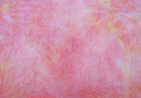 Fond de tissu teint. Beau fond abstrait.
