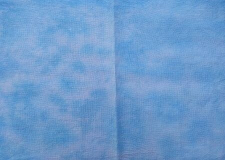 Background of dyed fabric. Beautiful abstract background. Sky, sea, blue background Banque d'images