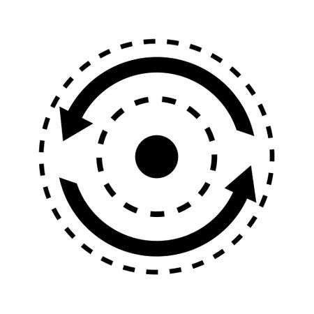 Consistency vector icon. stability illustration symbol. dynamic sign. repeat logo. Logó