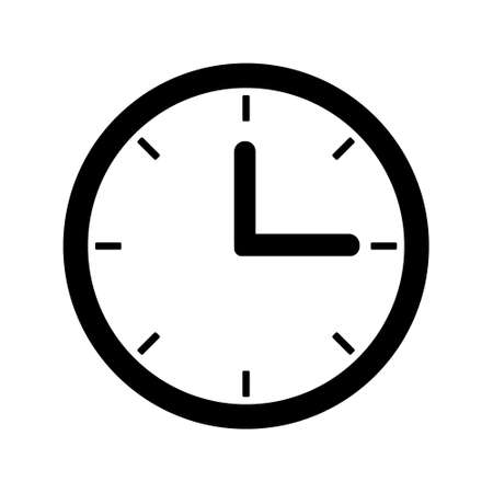Time icon Vector set. clock Password illustration sign collection. watch symbol.