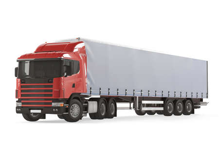 Cargo delivery vehicle truck