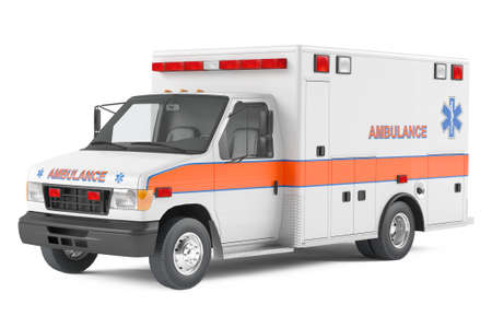 Ambulanza auto Archivio Fotografico - 24754823