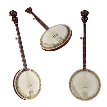 Banjo. Traditional Vietnam musical Instrument
