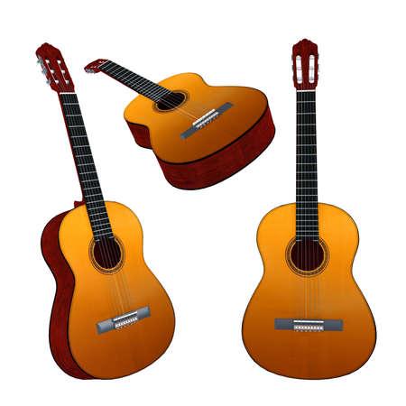 superdirecta: Aislado Guitarra cl�sica. M�ltiples �ngulos de visi�n