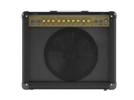 Electric guitar amplifier photo