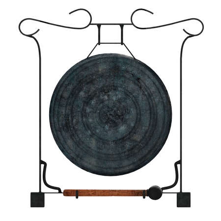 Thai gong isolated photo