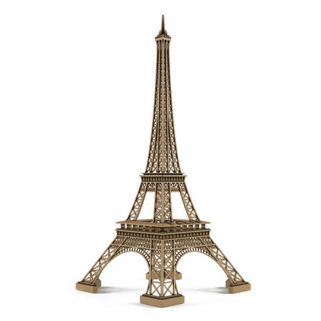 tower: Eiffel tower isolated