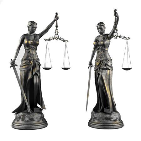 femida: Themis. Statue of justice femida.