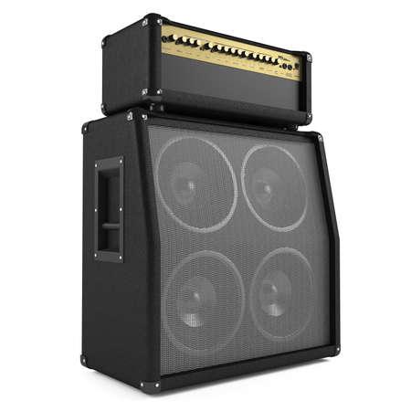 superdirecta: aislado amplificador de bajo. Dos puntos de vista