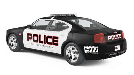 Auto della polizia. Sport e stile moderno. Archivio Fotografico - 24755631