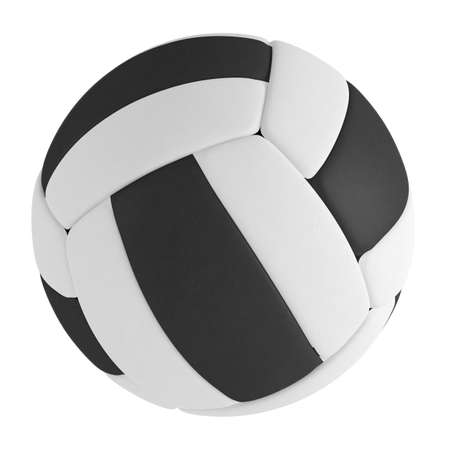 Volleyball ball isolated at the white background