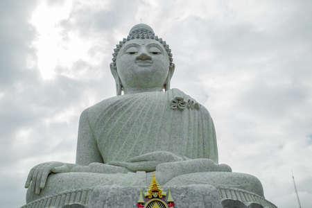 Big Buddha monument on the Phuket island, Thailand.