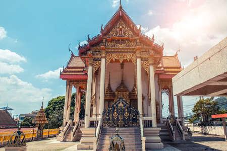 Thai temple. Wat Patong Suwankeereewong Temple Phuket, Thailand.