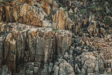 Texture of the rock stone cliff background. Banco de Imagens - 78176992