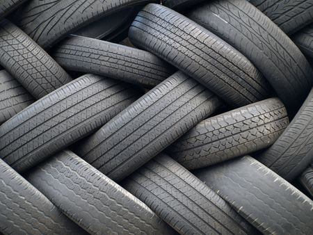 tyre tread: Tires