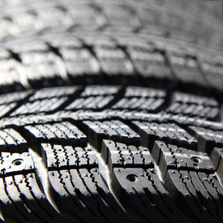 New tires stacked Stock Photo - 11240265