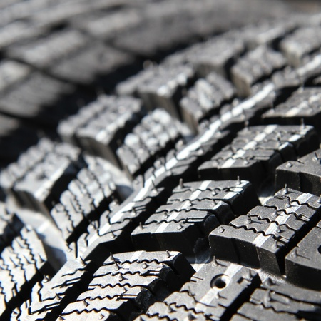traction: New tires stacked