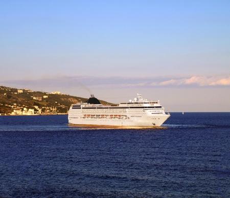 Luxury cruise ship at the Black sea Stock Photo - 11989148