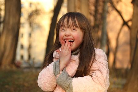 Portrait der schönen Mädchen glücklich.