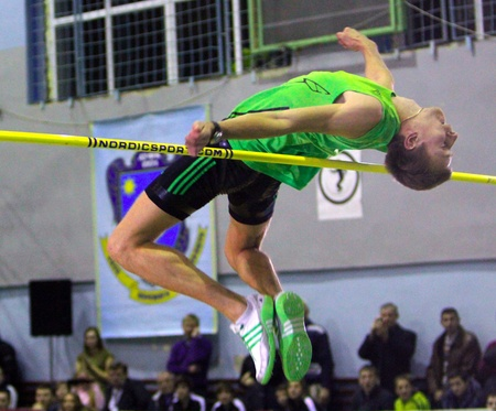 high jump:  Andriy Protsenko repeated the best result of the season in the world in high jump - 2.31 on the Memorial Demyanyuk track and field meeting, on January 20, 201 in Lviv, Ukraine.