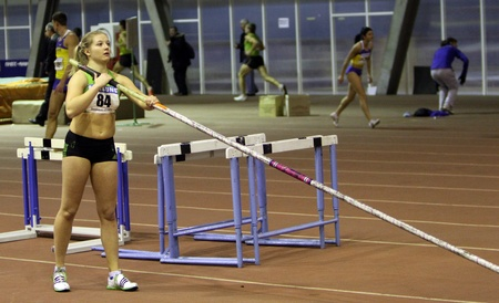 best result: Shelekh Hanna won the Ukrainian Cup in Athletics in the pole vault with the personal best result 4.40 m. on January 27, 2012 in Zaporizhia, Ukraine.