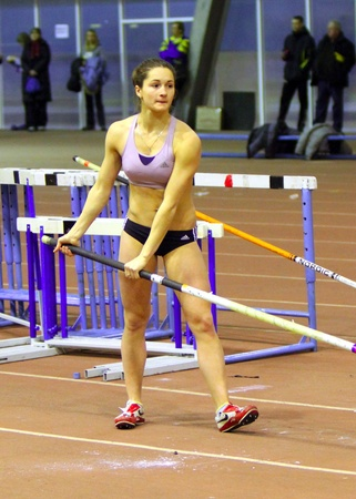 best result: Klipko Marina won the Ukainian Junior Track and Field Championships in the pole vault with the best result 3.70 m. on January 30, 2012 in Zaporizhia, Ukraine. Editorial