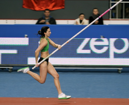 Pyrek Monika - Polish pole vaulter
