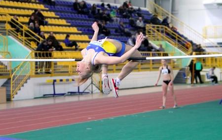 trial indoor: High jump