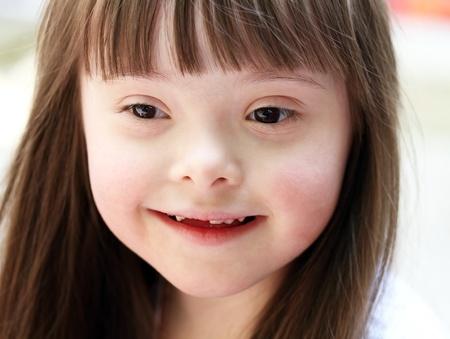 Portrait der schönen Mädchen glücklich Standard-Bild